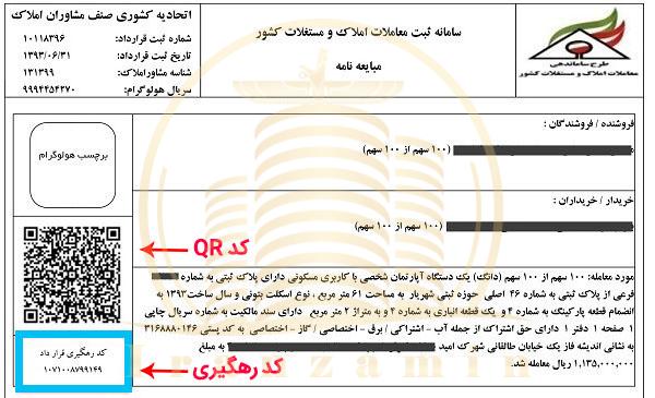 کد رهگیری املاک صدور کد رهگیری کد رهگیری منطقه ۲۲ کد رهگیری دریاچه چیتگر